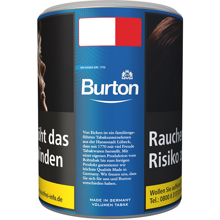 Burton Blue Volumentabak 65g