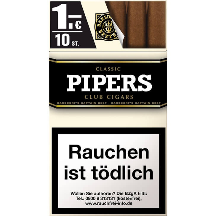 Pipers Club Classic 1€
