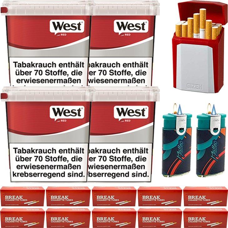 West Red 4 x 260g mit 2000 Hülsen