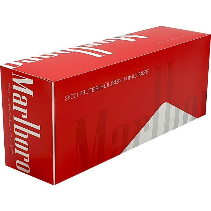Marlboro Red Filterhülsen 200