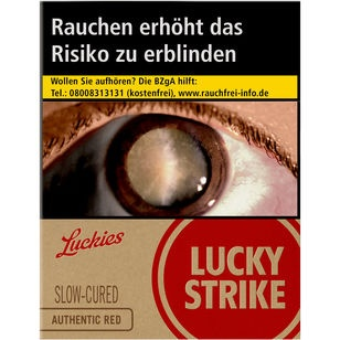 Lucky Strike Authentic Red 8 €