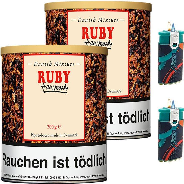 Danish Mixture Ruby 2 x 200g