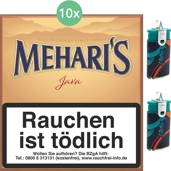 Mehari's Java 10 x 20 Stück