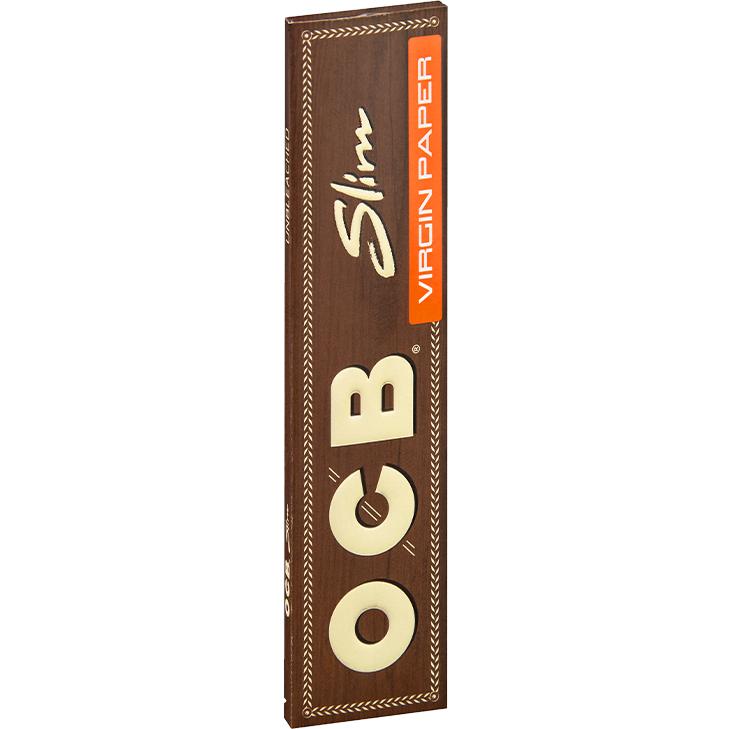 OCB Unbleached Slim Virgin 32 Blatt