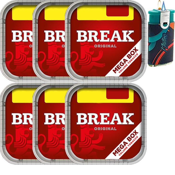 Break Original 6 x 170g mit Duo Feuerzeug