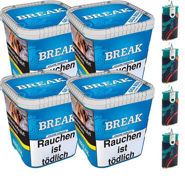 Break Blue / Blau 4 x 230g