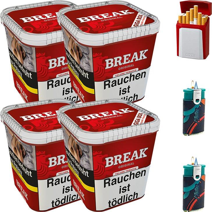 Break Original 4 x 230g mit Etui