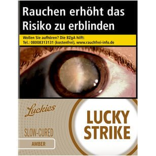 Lucky Strike Amber 8 €