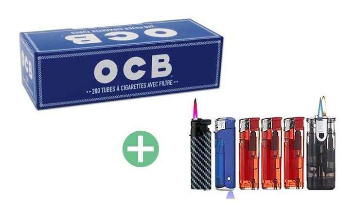OCB Filterhülsen 25 x 200