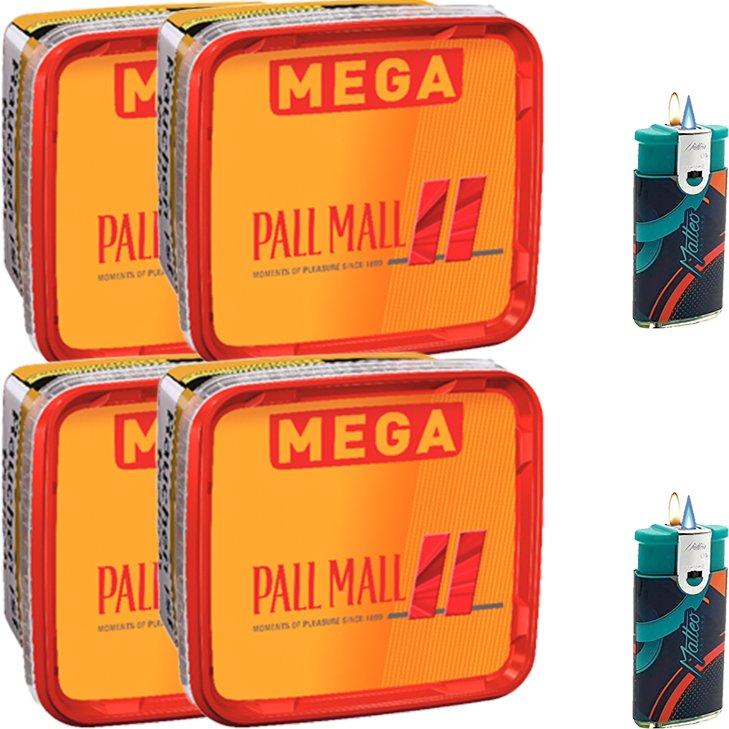 Pall Mall Allround 4 x 155g mit Duo Feuerzeug