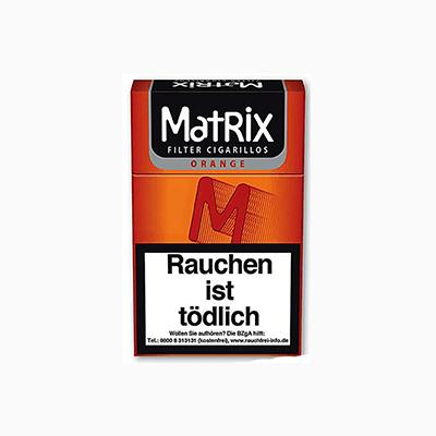 Matrix Orange Zigarillo 1,90 €