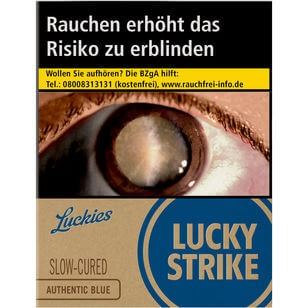 Lucky Strike Authentic Blue 8 €