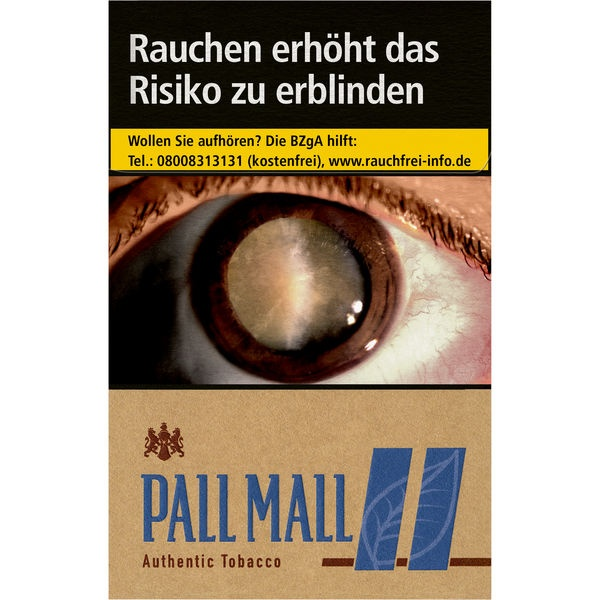 Pall Mall Authentic Blue 6,80 €