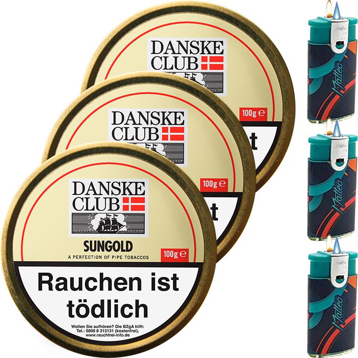 Danske Club Sungold 3 x 100g
