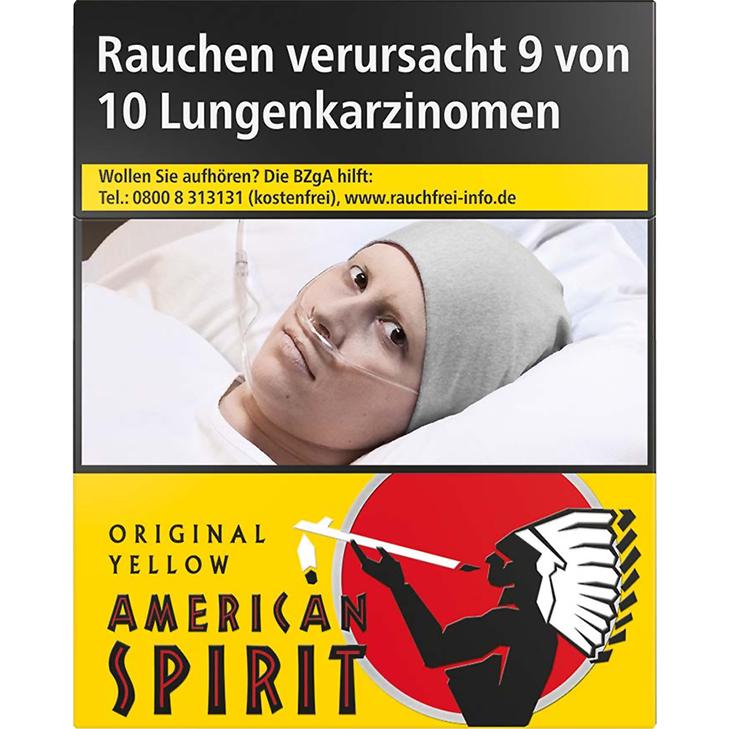 American Spirit Yellow 8 €