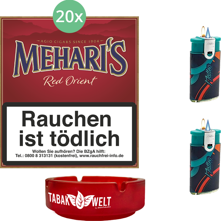 Mehari's Red Orient 20 x 20 Stück