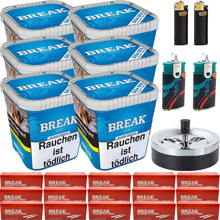 Break Blue 6 x 230g mit 3000 Hülsen
