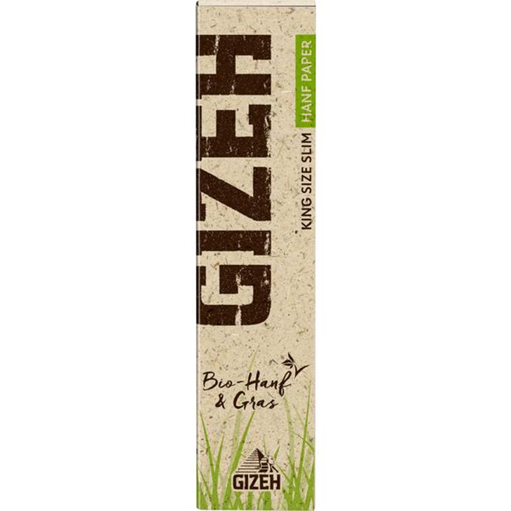 Gizeh Hanf & Gras King Size Slim 34 Blatt