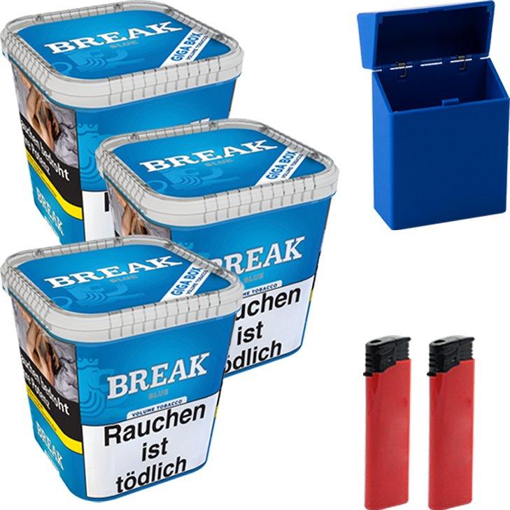 Break Blue 3 x 230g mit Etui