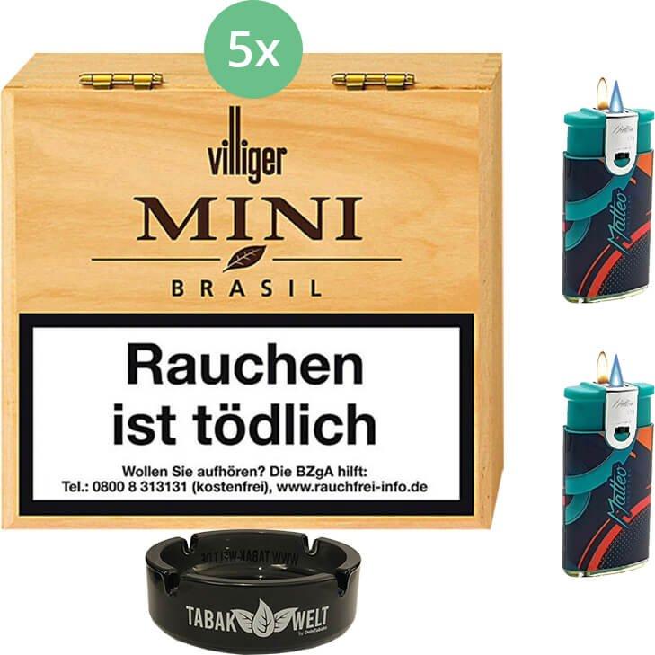 Villiger Mini Brasil Filter 5 X 50 Stück