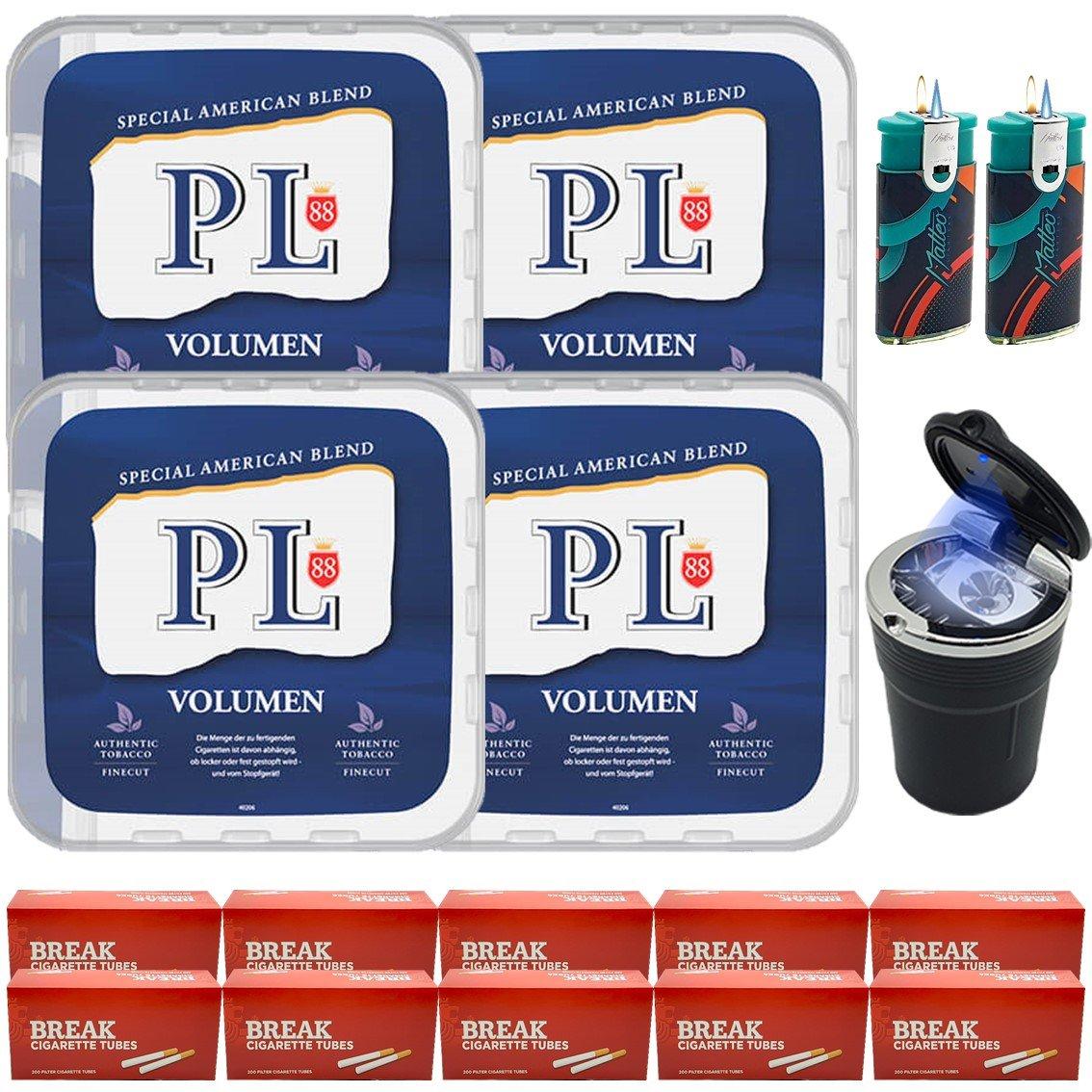 PL88 Blau 4 x 365g mit 2000 Hülsen