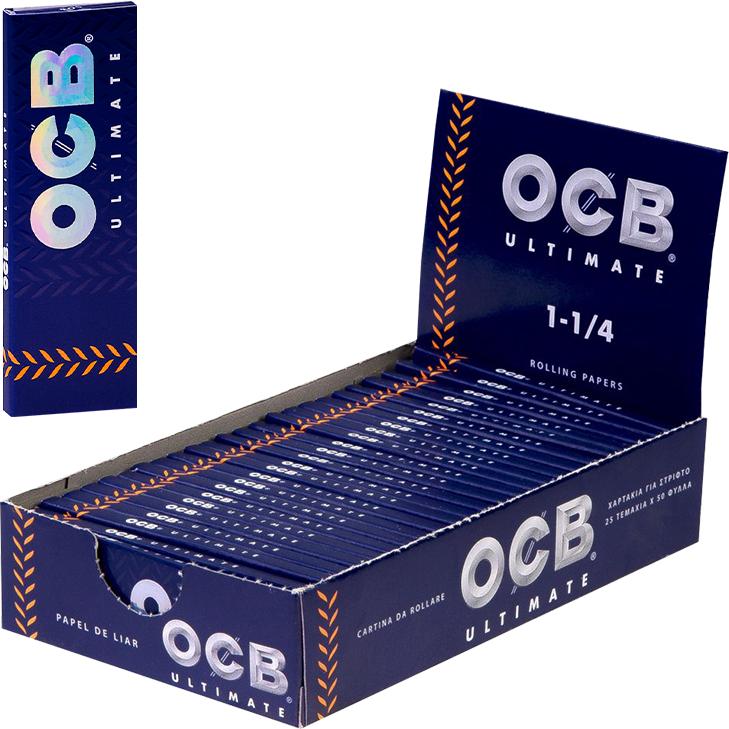 OCB Ultimate 1 1/4 - 25 x 50 Blatt