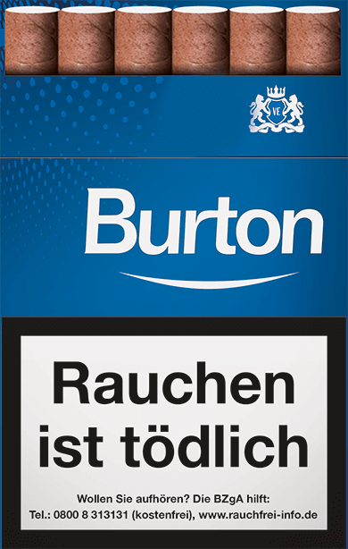 Burton Blue Zigarillos 2,20 €