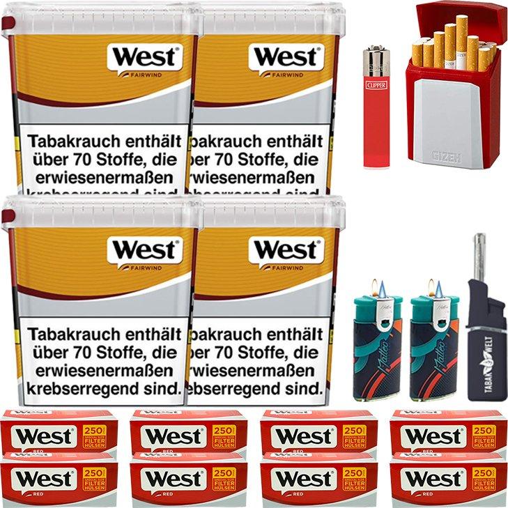 West Yellow Fairwind 4 x 310g mit 2000 Special Size Hülsen