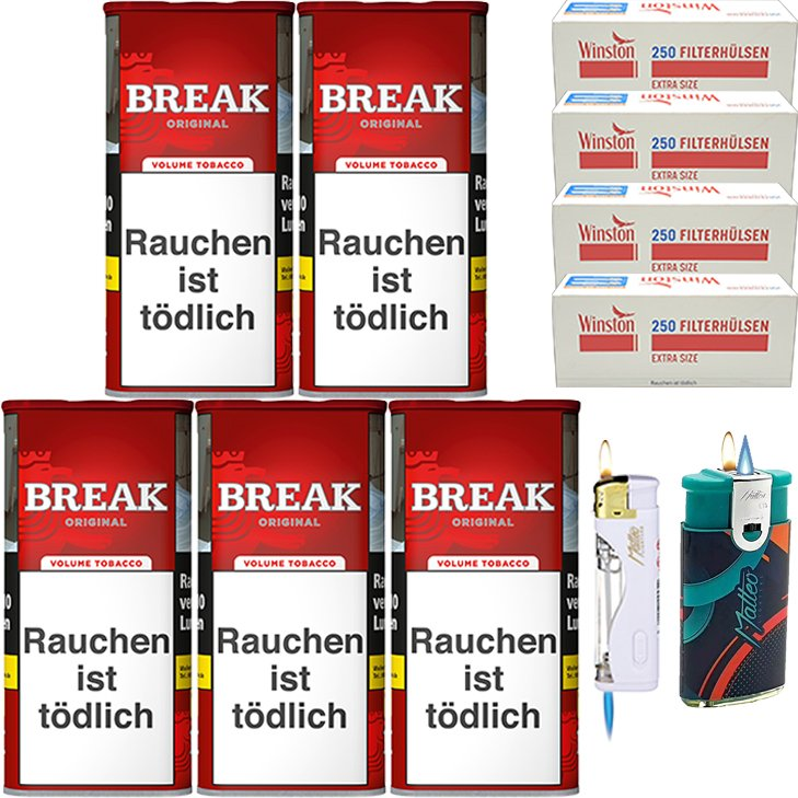 Break Original 5 x 115g mit 1000 Special Size Hülsen