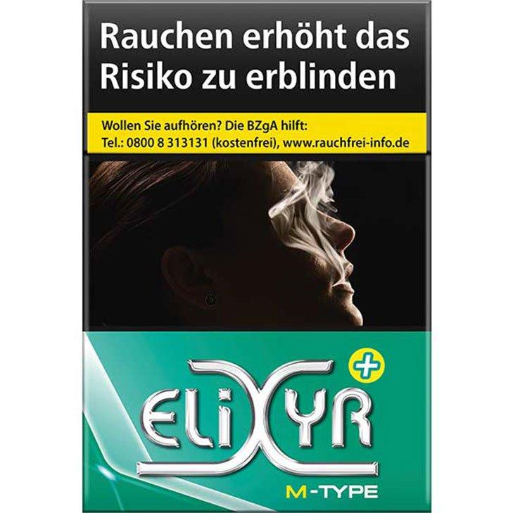 Elixyr Plus Menthol Zigaretten 6,50 €