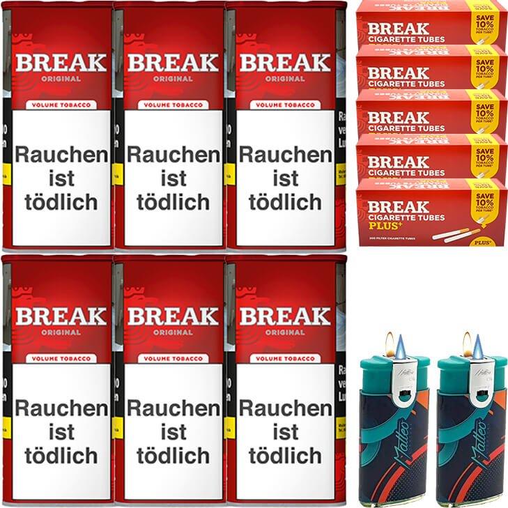 Break Original 6 x 115g mit 1000 Plus Hülsen