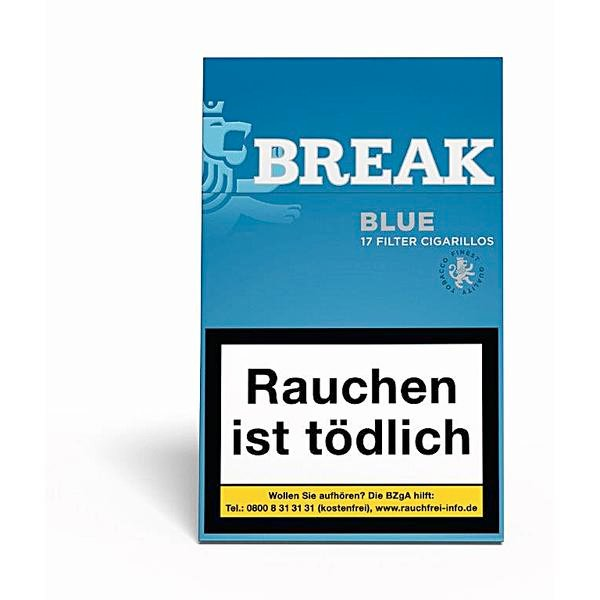 Break Blue Zigarillos mit Filter
