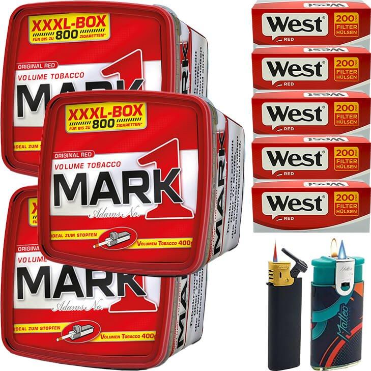 Mark 1 - 3 x 400g mit 1000 Hülsen