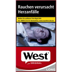 West Original long 6,80 €