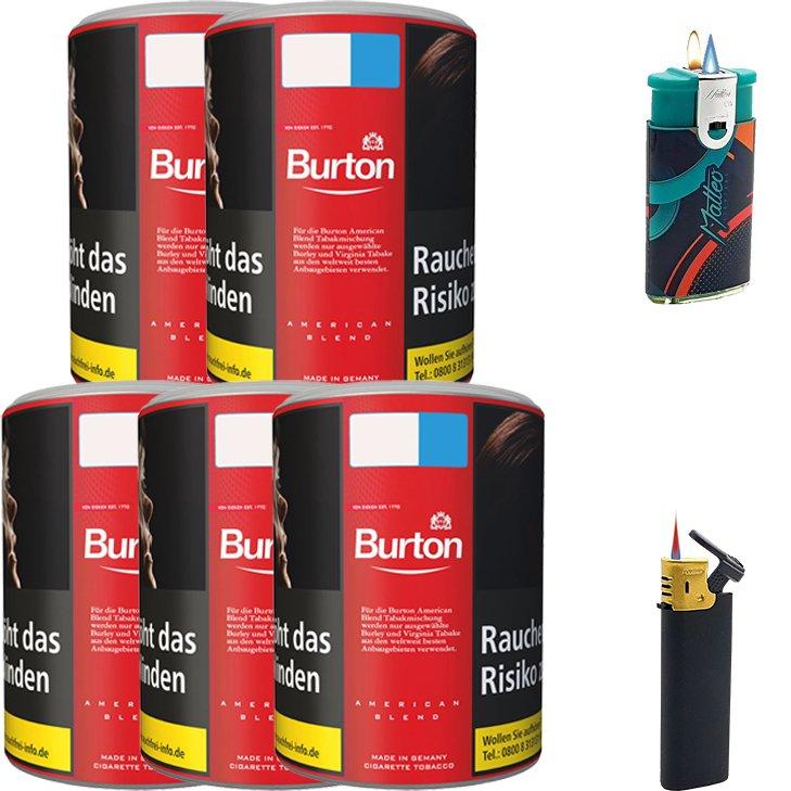 Burton Original 5 x 120g mit Feuerzeugen