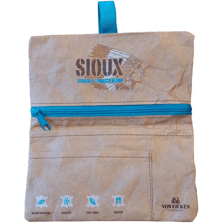 Pueblo Blue 10 x 100g mit Sioux Tabaktasche