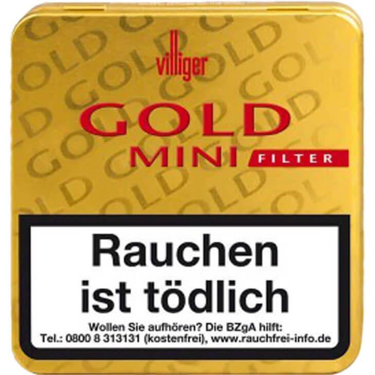 Villiger Gold Mini Filter 30 X 20 Stück