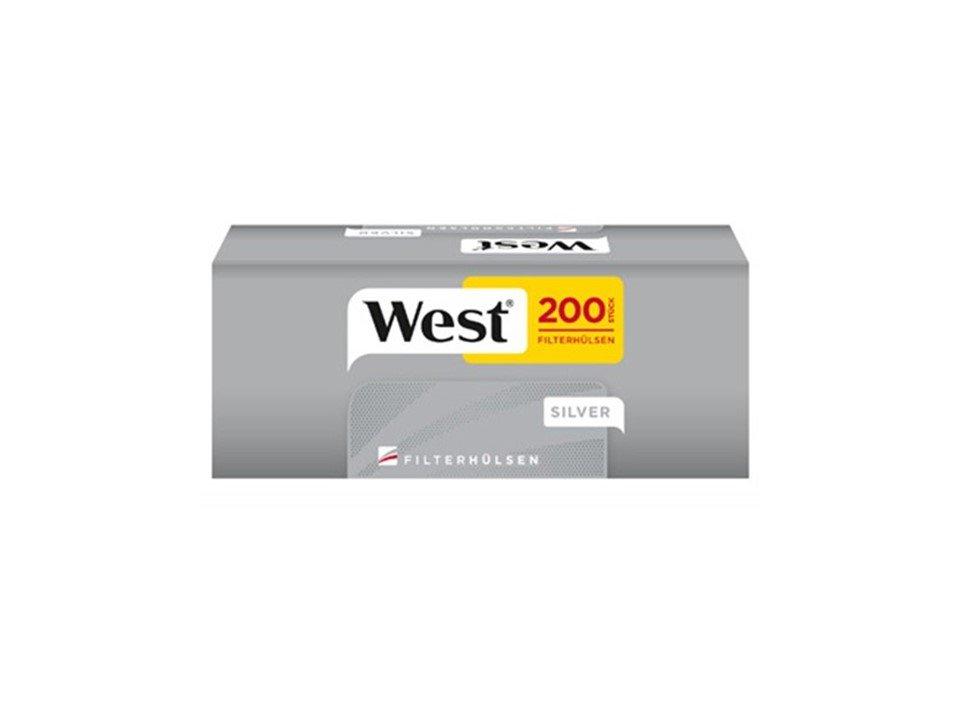 West Red 5 x 125g mit 1600 SilverKing Size Hülsen