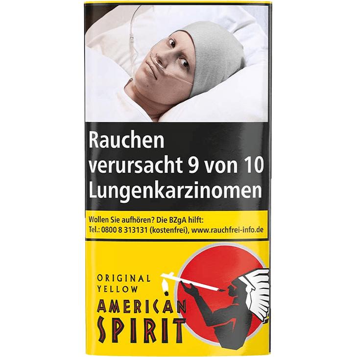 American Spirit Original Yellow 20 x 30g mit Gizeh Blättchen und Filter