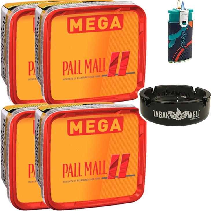 Pall Mall Allround 4 x 155g mit Glasaschenbecher