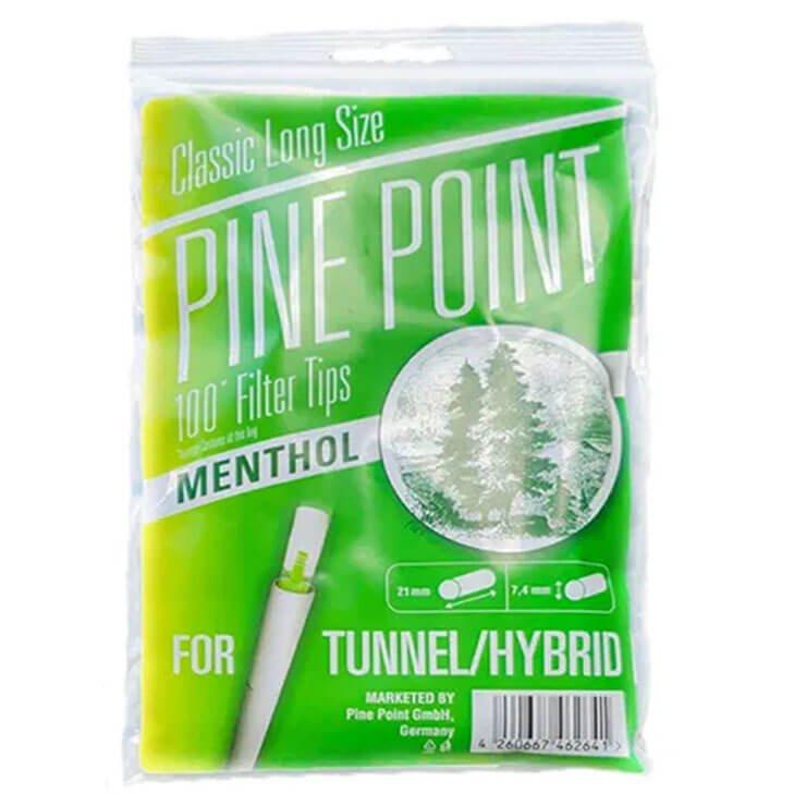 Mark 1 Pine Point Filter Tips Menthol