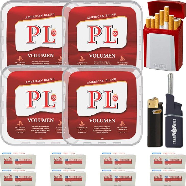 PL88 Red 4 x 400g mit 2000 Special Size Hülsen
