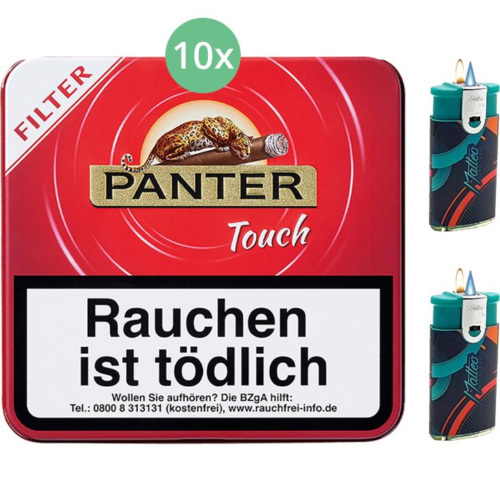 Panter Touch Red Filter 10 x 20 Stück