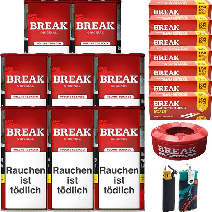 Break Original 8 x 115g mit 1400 Plus Hülsen
