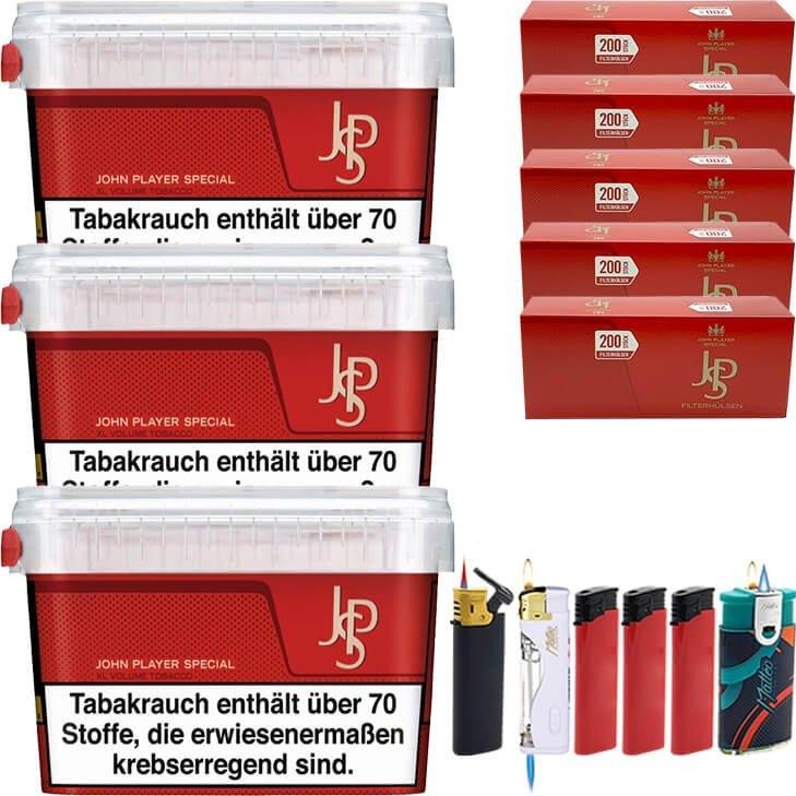 JPS John Player Mega Box 3 x 150g 1000 Hülsen