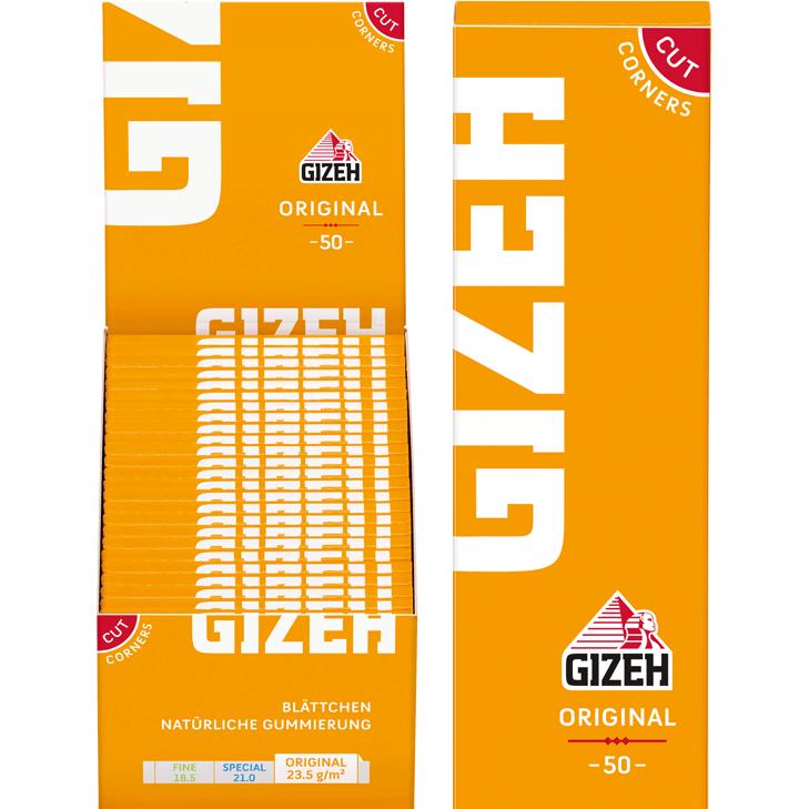 Gizeh Original 50 x 50 Blatt